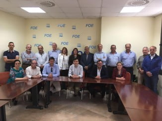 Miembros del Consejo Empresarial de Turismo de la FOE.