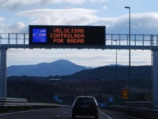 Del total de vehículos controlados, 7.599 conductores resultaron infractores, y por lo tanto denunciados por exceso de velocidad