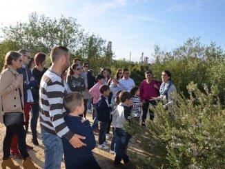 Una de las visitas realizadas a las instalaciones de Cepsa en Palos