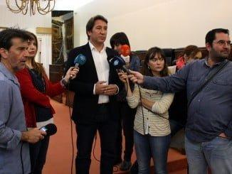 Ruperto Gallardo, en declaraciones a los medios