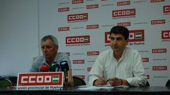 CCOO ha presentado en rueda de prensa su propuesta para dar solución a los asentamientos de inmigrantes
