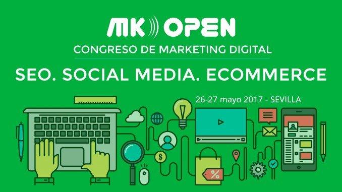 Anuncio del Congreso de Marketing Digital,redes sociales, comercio electrónico y posicionamiento web, en Sevilla
