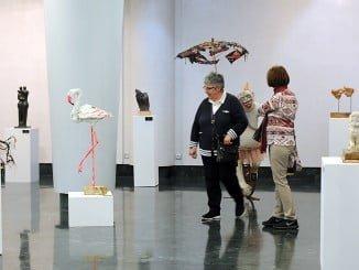 La exposición colectiva de escultores en Fundación Caja Rural del Sur ha tenido muy buena acogida