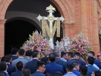 La Palma celebra las fiestas de la Santa Cruz de la Calle Sevilla.