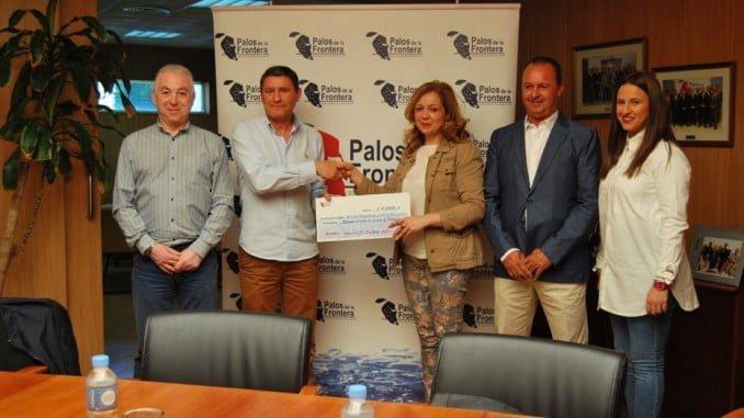 . La Comunidad de Regantes de Palos respalda a la Hermandad del Rocío de Palos.