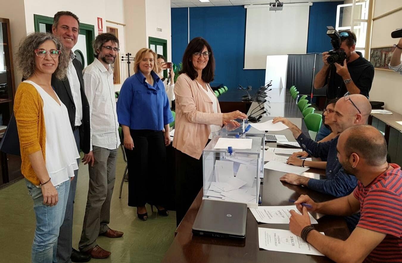 María Antonia Peña fue la que mejor cerró la campaña electoral.