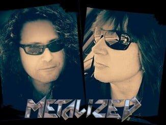 Héctor Núñez (cantante de Huelva y José Luís Anillo, multiinstrumentista y productor malagueño
