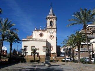 La plaza de San Pedro, en Huelva, escenario de la Verbena del Jamón y el Marisco este fin de semana