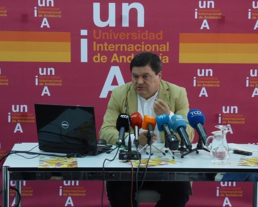 El vicerrector del Campus de la Rábida Agustín Galán