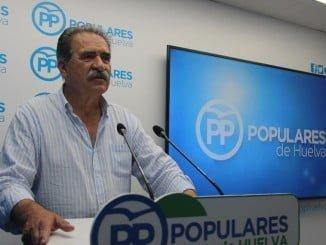 Antonio Fernández, portavoz del PP en el Ayuntamiento de Niebla