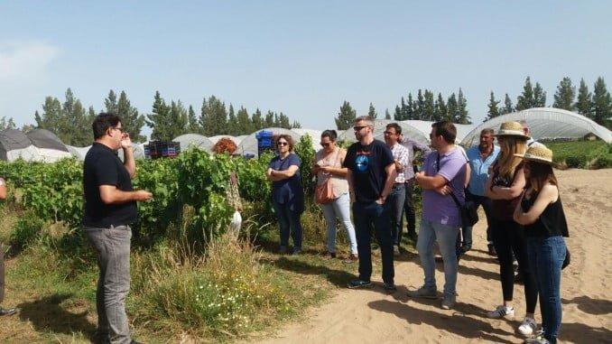 Aula de Agroecología en Almonte