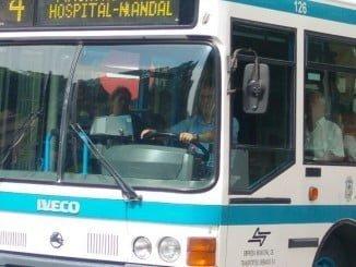 El transporte urbano por autobús sube un 14,0% en marzo respecto al mismo mes de 2016
