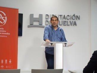 El vicepresidente de la Diputación y diputado responsable de Huelva Empresa, José Luis Ramos