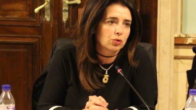 Carmen Sacristán, conejala del PP en el Ayuntamiento de Huelva