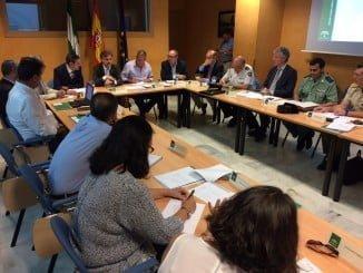 José Fiscal en la reunión del Comité Asesor del Infoca, que se reúne dos veces al año
