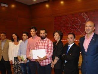 Ganadores del IX Concurso de Bolsa organizado por la UHU
