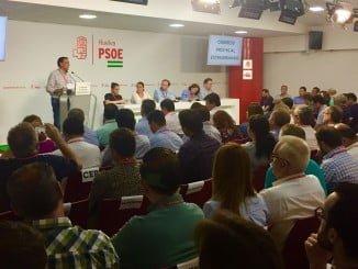 """Caraballo ha señalado durante el Congreso que el PSOE es un partido """"unido"""""""