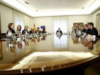 Reunión del Consejo de Ministros donde se ha aprobado la distribución de fondos a las CCAA