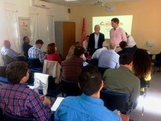 Consejo General del Valverde del Camino ha sido sede hoy del Consejo General del Consorcio Provincial de Bomberos