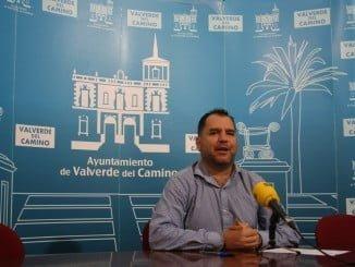 Domingo Doblado Vera, primer teniente de alcalde del Ayuntamiento de Valverde