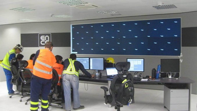 Sala de Control de Ence en Huelva