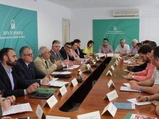 Reunión del Foro Provincial de la Inmigración en la Delegación del Gobierno de la Junta en Huelva