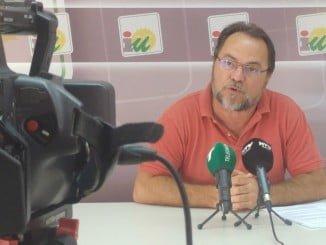 Francisco Javier Camacho, miembro de la Ejecutiva Provincial de IU en Huelva