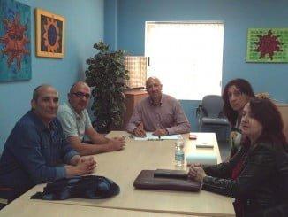 García Machado ha mantenido distintos encuentros con los colectivos de profesores de la Universidad