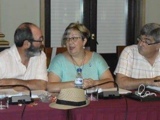 Grupo de  IU en el Ayuntamiento de Huelva