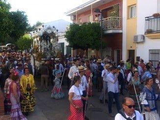 La Hermandad de Valverde ya camina hacia El Rocío