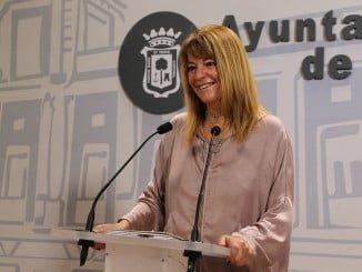 Pilar Miranda, portavoz del PP en el Ayuntamiento de Huelva