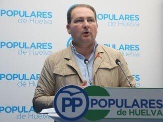 Portavoz del PP en el Ayuntamiento de Aljaraque, David Toscano