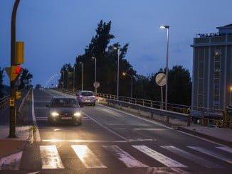 Se han colocado 51 farolas con luminaria LED para garantizar la seguridad vial