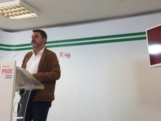 """Jesús Ferrera critica el """"castigo"""" del PP a la provincia de Huelva"""
