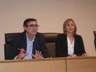 El delegado territorial de Educación, Vicente Zarza, inaugura la jornada de orientación educativa