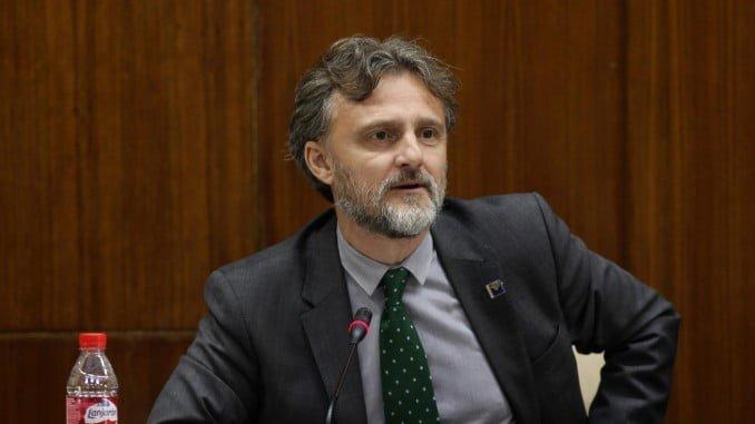 José Fiscal, consejero de Medio Ambiente, comparece en comisión