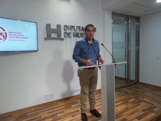 José Luis Ramos explica en rueda de prensa las mociones que el Grupo Socialista llevará al Pleno