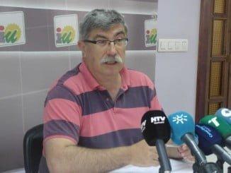 Juan Manuel Arazola, concejal IU en el Ayuntamiento de Huelva