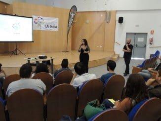 Alicia Narciso en el I Encuentro Audiovisual 'La Era del Video'