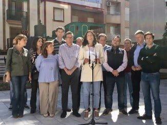 La secretaria general del PP andaluz, Loles López ha intervenido en un acto de su partido en Huelva