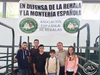 La Asociación Española de Rehala, en la Feria de Caza de Moura (Portugal)