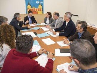 Reunión de la Mesa del Comercio