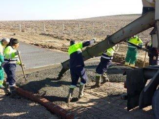 Obras del proyecto de emprendimiento agrícola 'La Asomada'