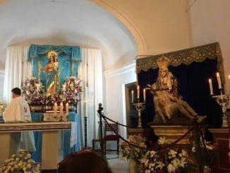 La Patrona de Ayamonte, en Pozo del Camino