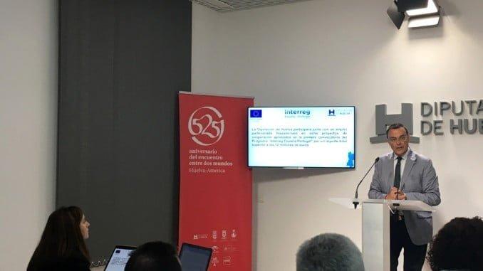 Ignacio Caraballo ha presentado los proyectos transfronterizos en los que participará la Diputación