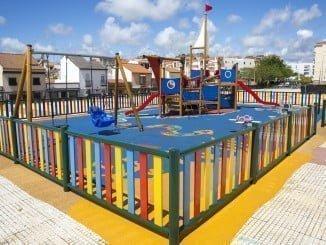 Se ha ejecutado el cerramiento de las instalaciones del Parque de La Luz, en la zona del Higueral