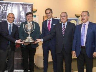 Presentación de la 92 edición de la Copa del Rey de Tenis, que se celebra del 3 al 10 de junio