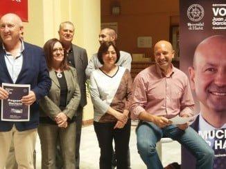 El candidato a rector de la UHU, García Machado, ha presentado su programa electoral