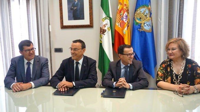 El convenio entre las diputaciones de Huelva y Badajoz pretende evitar el fraude fiscal