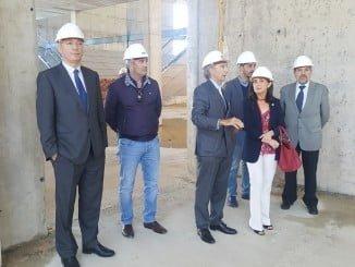 Asunción Grábalos ha visitado las principales instalaciones del Puerto junto a su presidente y su director